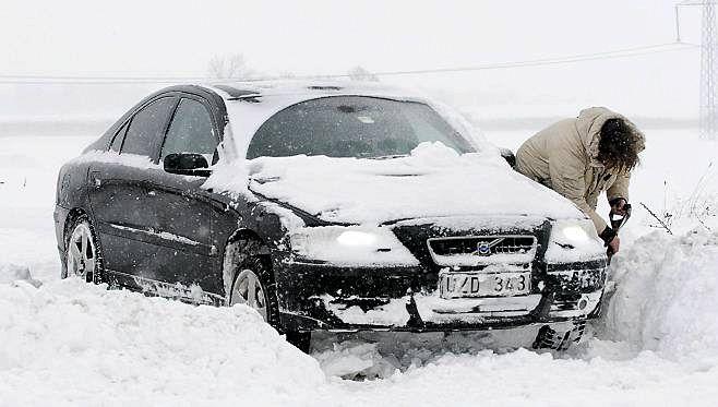 Эксплуатируем автомобиль зимой
