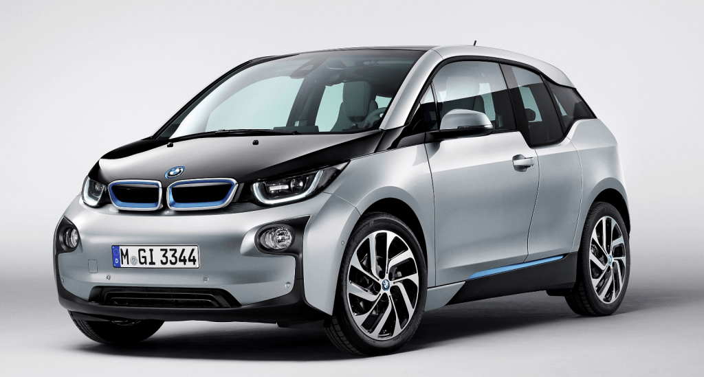 BMW i3 прототип Apple Car