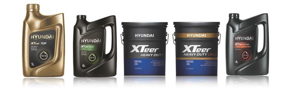 Hyundai масло