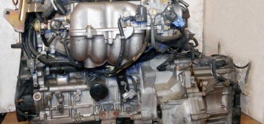 Контрактный двигатель с коробкой передач