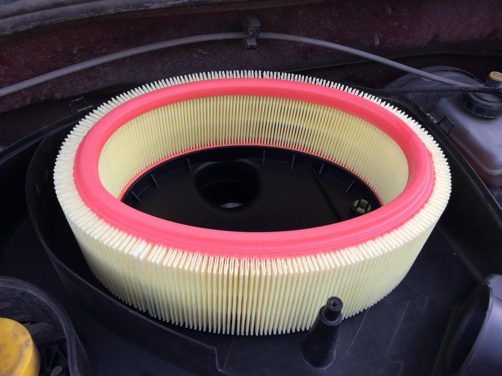 Новый воздушный фильтр